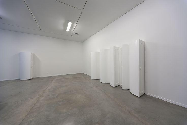 John Mario Ortiz. Reforms, 2012. Lackered wood. Variable dimensions.
