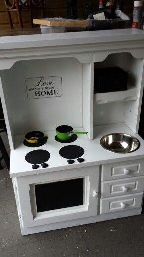 Keukentje  van nachtkastje