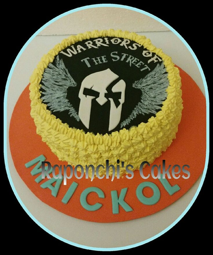 #torta #warriors #raponchiscakes