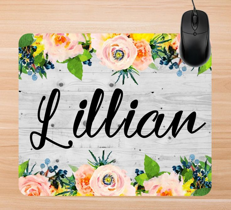 A personal favorite from my Etsy shop https://www.etsy.com/listing/501879491/custom-mouse-pad-personalized-mouse-pad