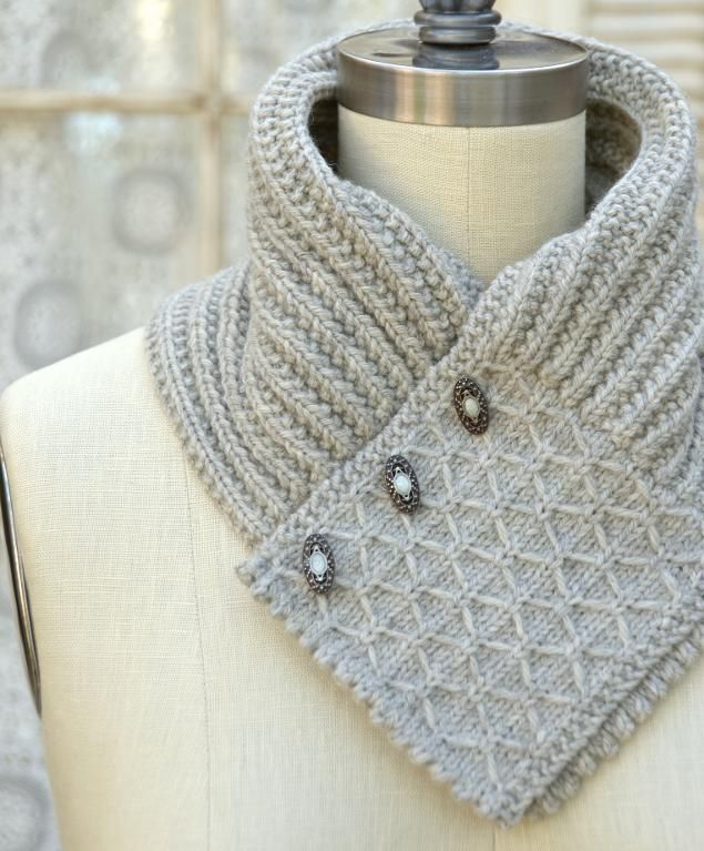 Quilted Lattice Ascot by Pam Powers Knits | Knitting Pattern - Looking for your next project? You're going to love Quilted Lattice Ascot by designer Pam Powers Knits. - via @Craftsy