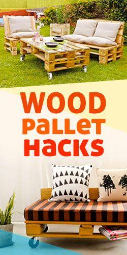 Wood Pallet Hacks