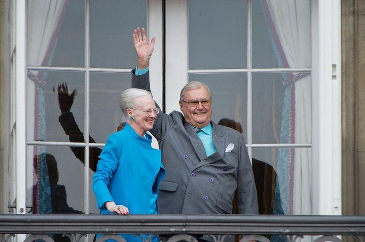 Den kongelige familie på balkonen