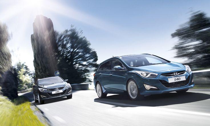 i40 napędzany jest silnikami nowej generacji, połączonymi z nowoczesnymi skrzyniami biegów, dzięki czemu samochód oferuje jednocześnie niski poziom spalania oraz przyjemność z jazdy.