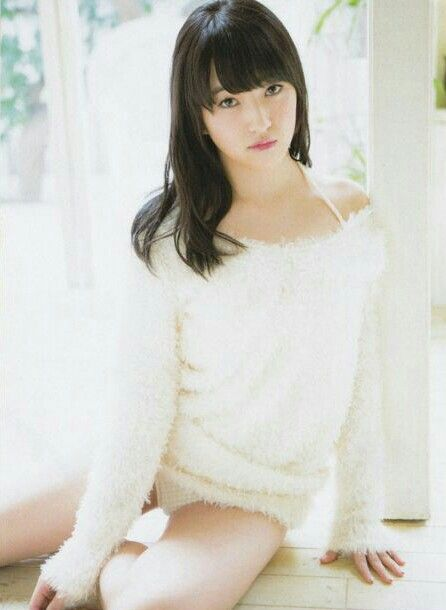 "HKT48 Meru Tashima ""Super Natural"" on Bubka Magazine"
