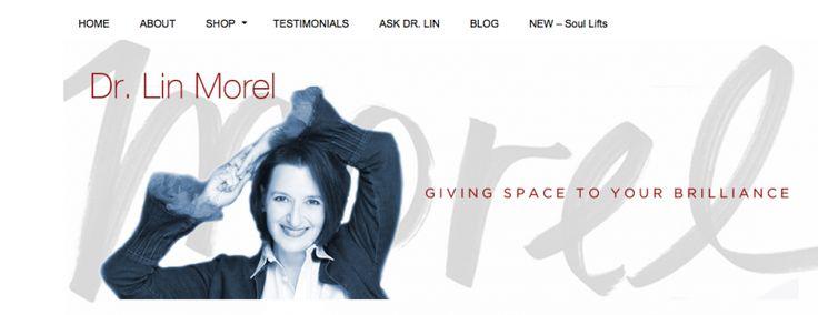 Dr Lin Morel Website Header Design