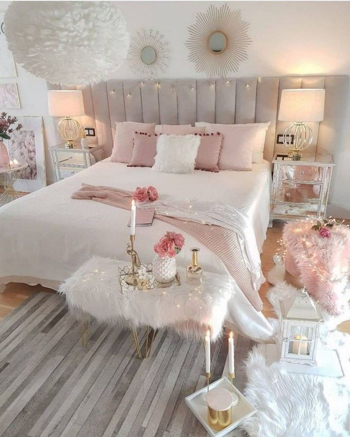 40 Best Teenage Girl Bedroom Decorating Ideas In 2020 Room Ideas Bedroom Small Room Bedroom Girl Bedroom Decor