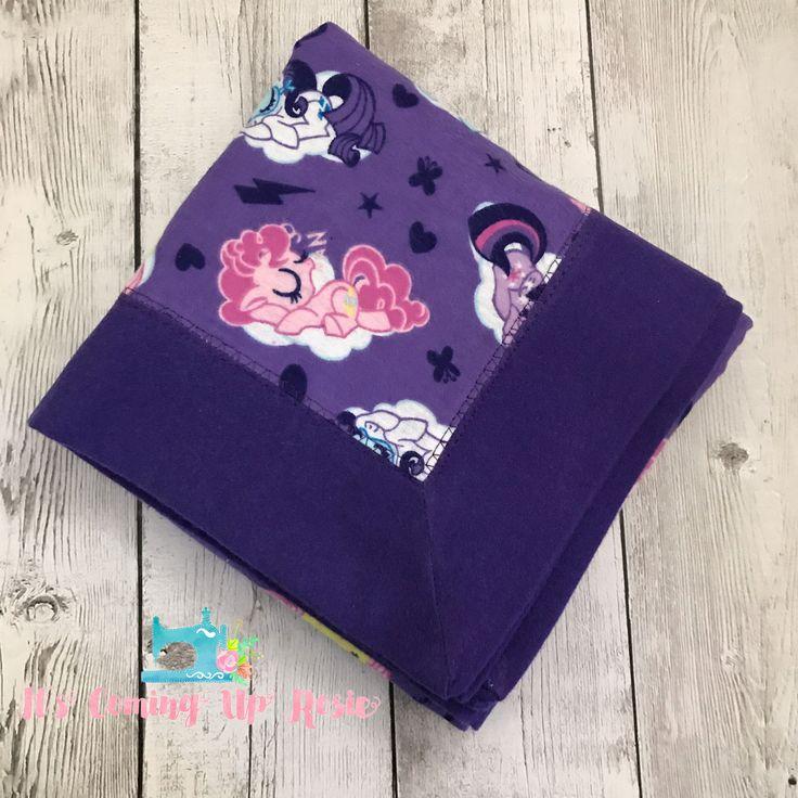 Flannel Baby Receiving Blanket - My Little Pony