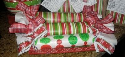"""Inside these cutely decorated packages are frozen cookie dough rolls. The idea behind this gift is… the recipient can eat the gift as is (cookie dough) or can bake it when they feel like having fresh baked cookies! ... These frozen cookie dough rolls can last a couple of months in the freezer (as long as they are well wrapped with the proper freezer paper)."""