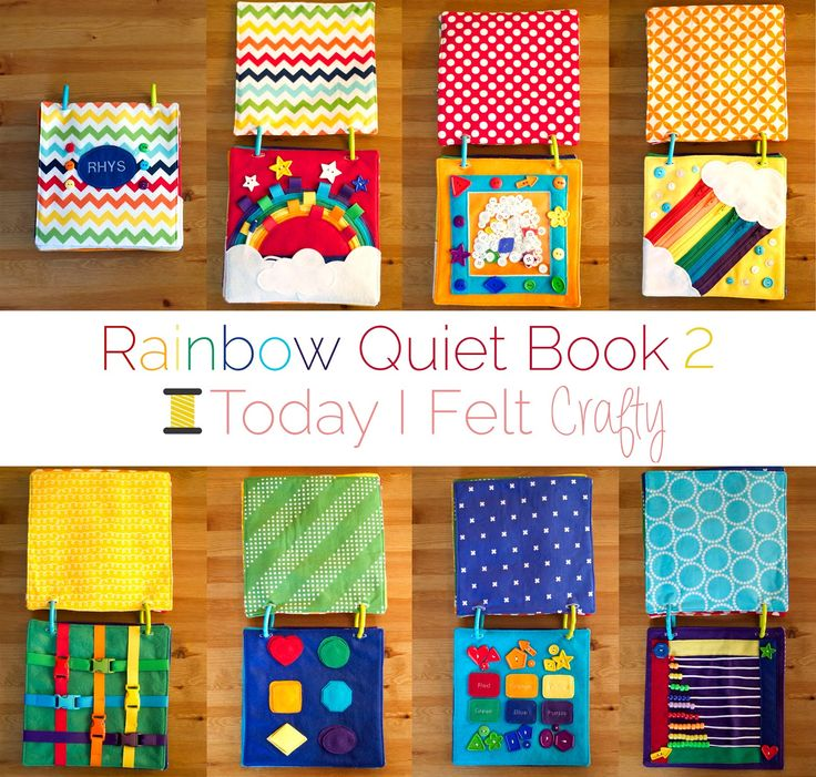 Rainbow Quiet Book 2