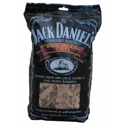 Made from white oak barrels used at the Jack Daniel's distilleries to age and flavor the whiskey.