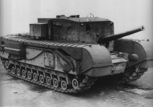"""88-mm tank destroyer """"Churchill"""" Mk.I (A22D)."""