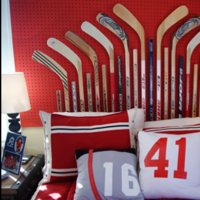 the headboard could transfer to a cool decoration