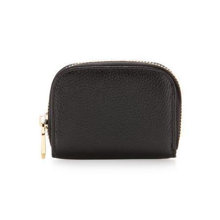 Neiman Marcus Mini Lady Credit Card Wallet, Black