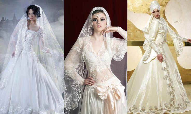 Свадебные платья в восточном стиле