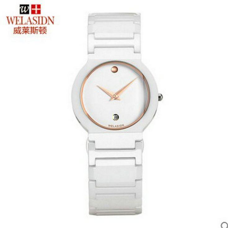 New Arrivals fashion watch waterproof ultra-thin ceramic crown relogio feminino masculino Quartz Wristwatch Lady Dress Women - Online Shopping for Watches