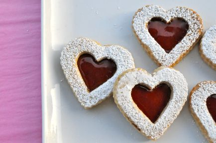 Yumm!!!: Valentines Day Cookies, Linzer Cookies, Christmas Cookies, Cupcake, Sweet, Cookies Valentines, Heart Cookies, Food, Recipes