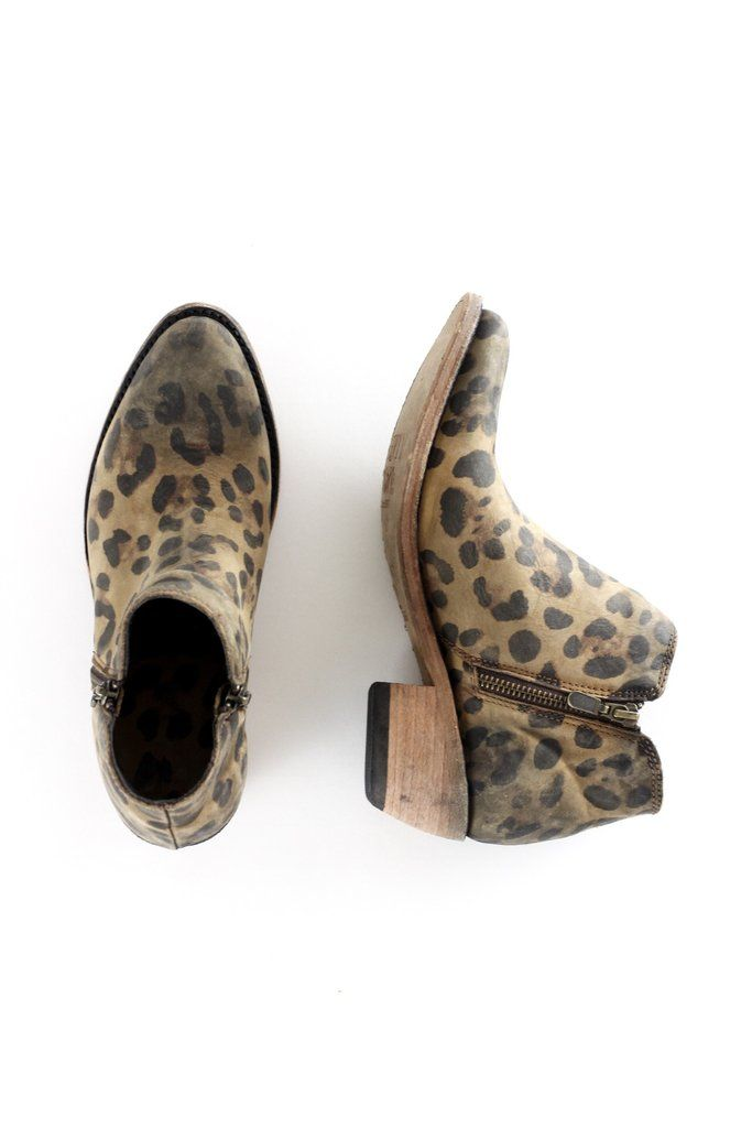 Liberty Black Leopard Bootie. Killing it in leopard!  These adorable Liberty Black Leopard Booties are our favorite way to add a little edge to any ol' outfit. Short ankle boots made of 100% real cow leather with leather sole and welt construction. Boots for all season. Spring. Summer. Fall. Winter. therollinj.com