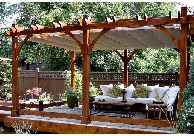 Pergola Covers 12 X20 Breeze Pergola With Retractable Canopy Outdoor Living Today Outdoor Pergola Pergola Outdoor Living