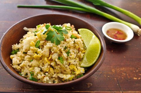 Side, TS1, Thai Egg Fried Rice, Thai