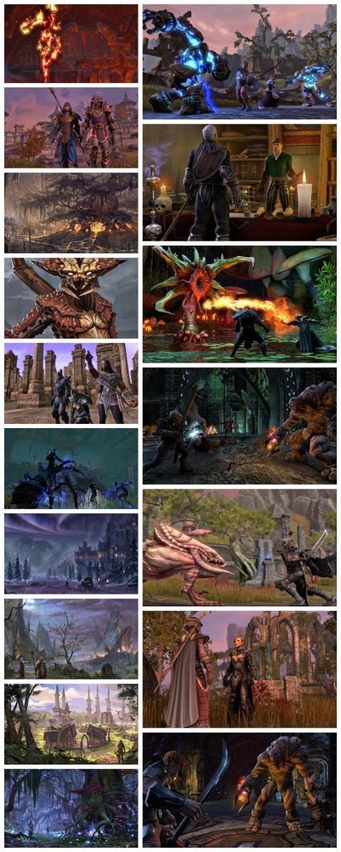 Screenshots and art of Elder Scrolls Online
