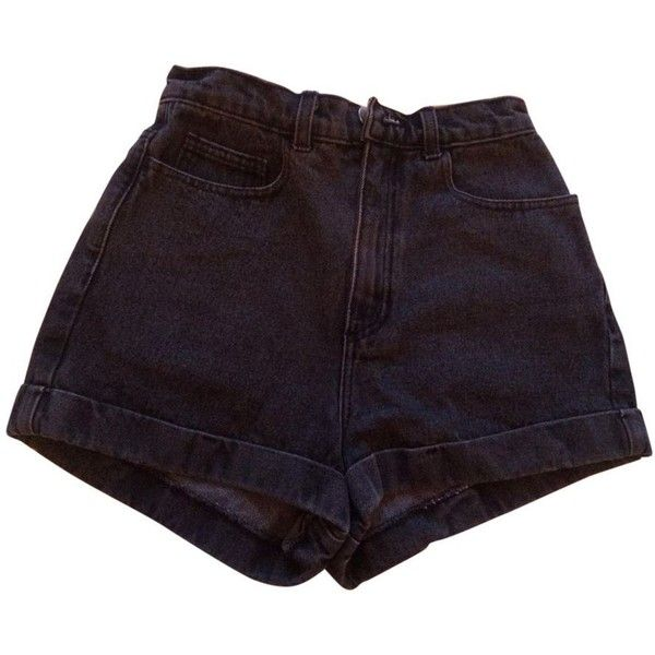 HIGH WAIST SHORTS AMERICAN APPAREL ($36) ❤ liked on Polyvore featuring shorts, bottoms, american apparel, gray high waisted shorts, highwaist shorts, high-rise shorts and high-waisted shorts