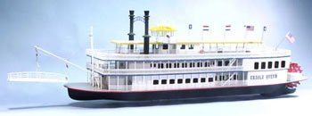 Creole Queen Wooden Boat Kit by Dumas