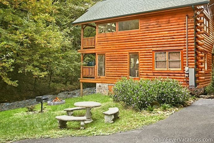Cabin Fever Vacations provides log cabins in Gatlinburg with luxurious amenities, rustic charm and mountain views. Learn more about individual cabins here.