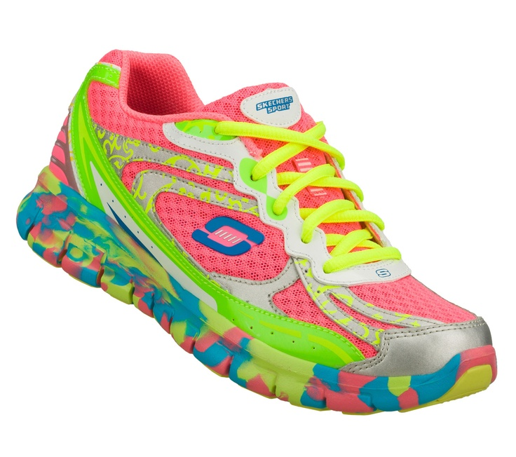 Skechers Sport Synergy Confetti Multi-color.....just got them on sale @ Famous Footware, seriously one of the best buys ever!!!!