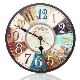Round wall décor is not only beautiful but trendy. In fact, whether it be a chic round wall clock, or piece of round metal wall art or even a round mirror wall art, you will appreciate the variety of materials available that round wall art comes in.