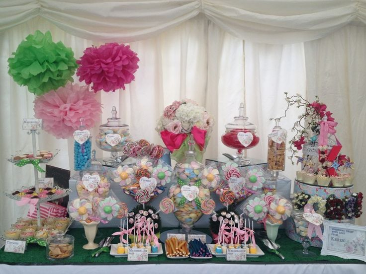 Themed Candy Buffets - Candy Buffets l Wedding Favors l Handmade ...