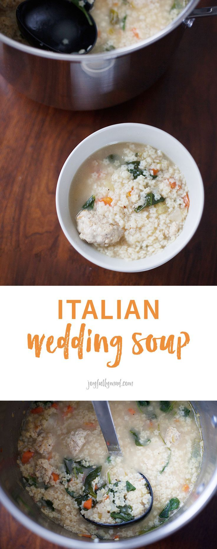 This quick Italian Wedding Soup recipe is perfect for any time of year! Make it in less than an hour and have a batch for the week.