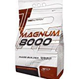 Magnum 8000 Mass Weight Builder  1.0kg (chocolate)  Massive increase in body weight  Advanced HARD GAINER (13% protein) with creatine and MCT oil  Trec Nutrition by MagicSupplements