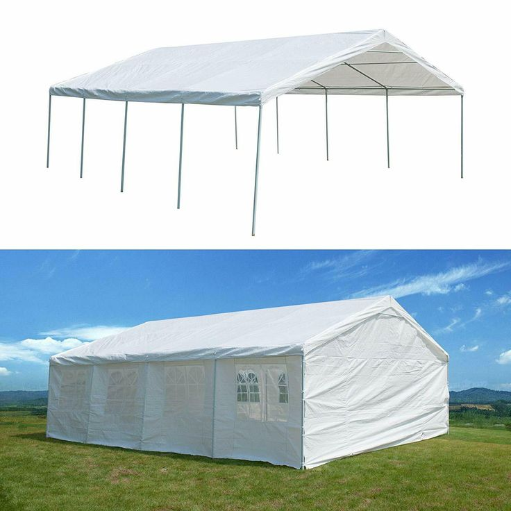 Outdoor Wedding Party Tent Carport Metal Frame Commercial