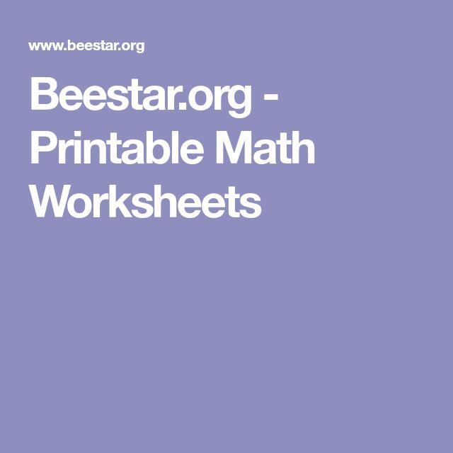 best 25 printable maths worksheets ideas on pinterest free math worksheets math worksheets. Black Bedroom Furniture Sets. Home Design Ideas