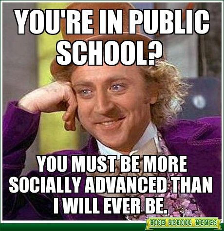 As a home-schooled student, would I have difficulty in public high school?