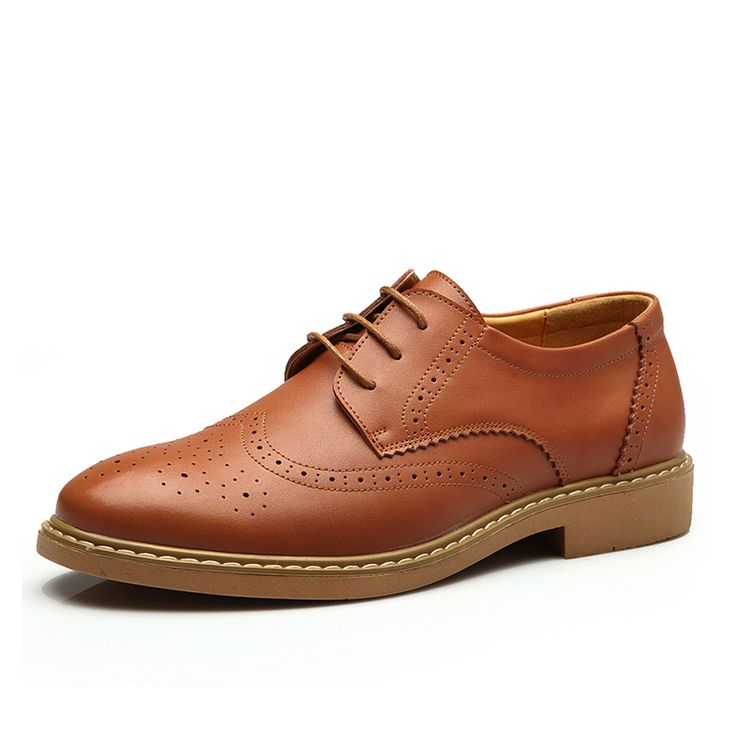 >> Click to Buy << Mens Brogue Shoes Genuine Leather Shoes Men Newest Business Casual Brogues Men Dress Shoes Luxury Brand Sapato Masculino #Affiliate