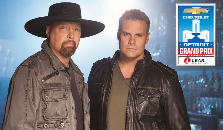 One of country music's most prominent duos will bring their blue collar sound to the Chevrolet Detroit Grand Prix presented by Lear as Montgomery Gentry