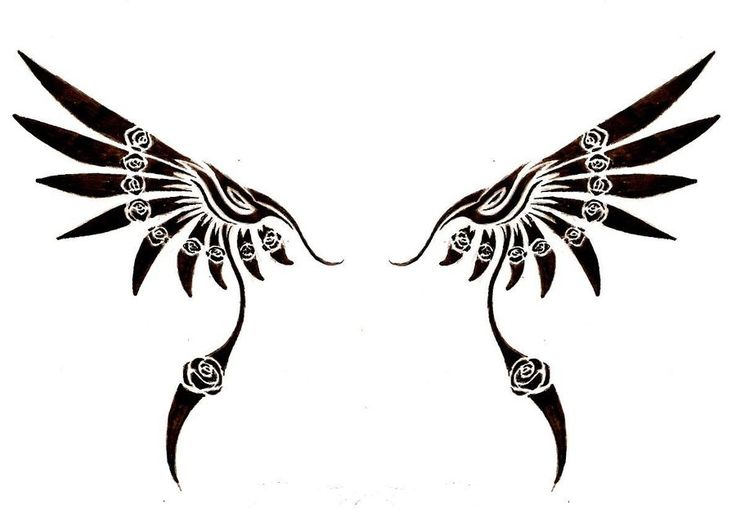 Tribal Wing by jaicy.deviantart.com on @deviantART