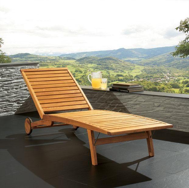 Design i wygoda drewnianego leżaka