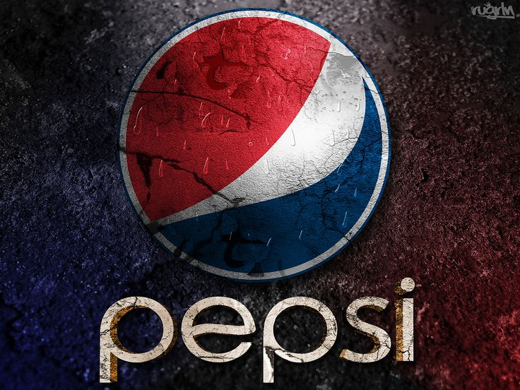 Pepsi Logo Grunge Design