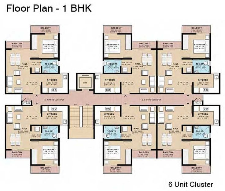 535 best ideas for the house images on pinterest floor for Cluster house plans