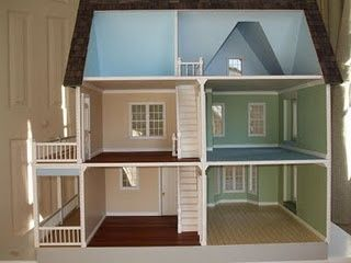 Dollhouse Plans Victorias Farmhouse Floor Plan Idea