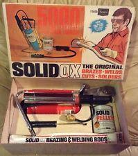 "Vintage Sears Craftsman Solid-Ox Series 5000"" Welding Torch Kit   NOS"