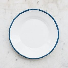 Howkapow - Enamelware Side Plate - Ocean  #design #gift #ideas #xmas gifts from @howkapow