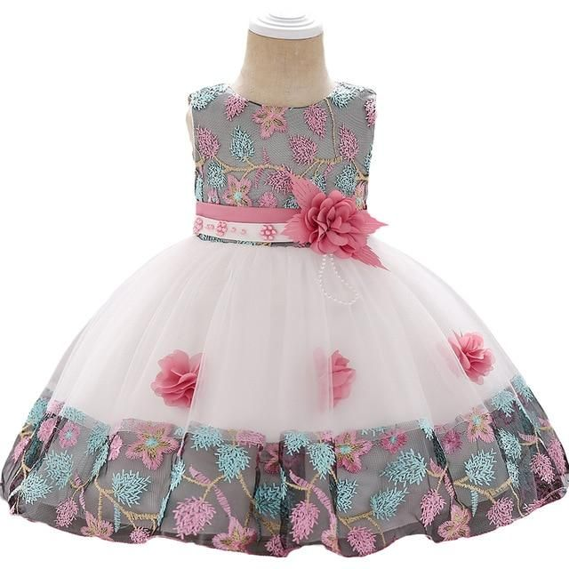 d7b52194855e5 Summer baby dress for Girls Clothes Newborn Infant Baby Dress Kids ...