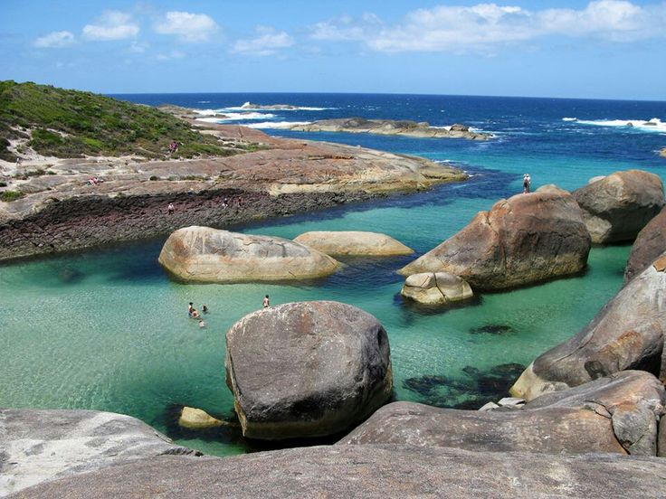 Denmark, Western Australia  I have been here. I think it may have been one of my favorite places I visited in Oz.