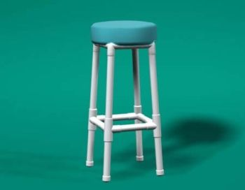 white with teal bar stools - Google Search