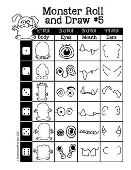24 best Roll A Dice Drawing Games images on Pinterest