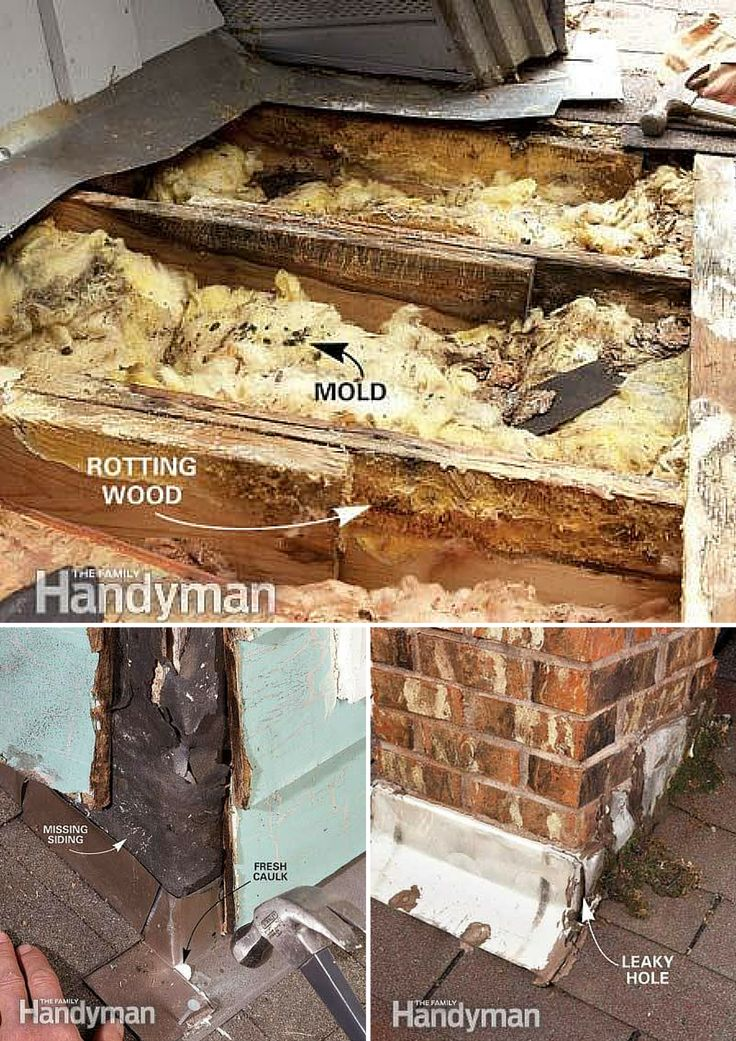 Roof Repair: How to Find and Fix Roof Leaks You can stop leaks yourself—no experience necessary http://www.familyhandyman.com/roof/repair/roof-repair-how-to-find-and-fix-roof-leaks/view-all